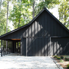 Contemporary Garage And Shed by Drawing Dept