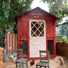 traditional garage and shed by tumbleweed and dandelion.com