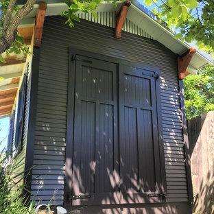 サンフランシスコの小さい独立型おしゃれなガーデニング小屋の写真