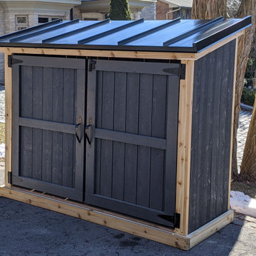 Craftsmen Garbage, Recycling and Green Bin Shed