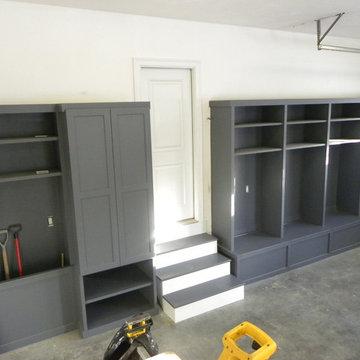 Custom Built Storage Lockers - Newton MA