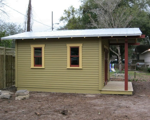 Craftsman bungalow shed ideas pictures remodel and decor for Craftsman style storage sheds