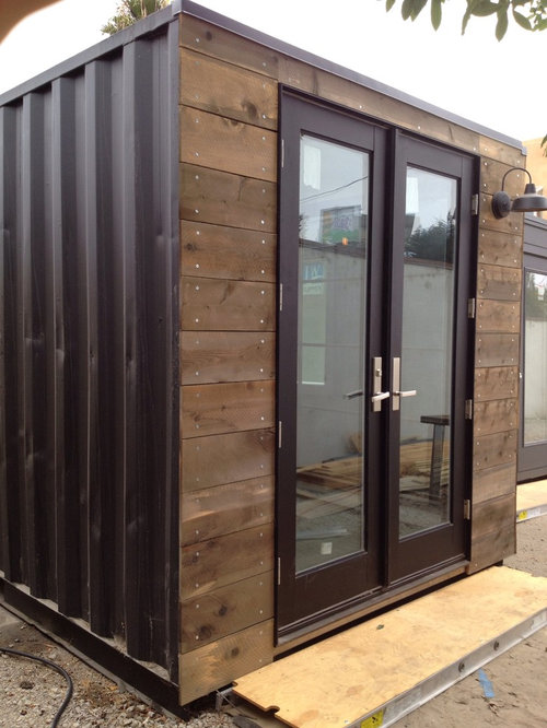 Best Shipping Container Garage and Shed Design Ideas ...