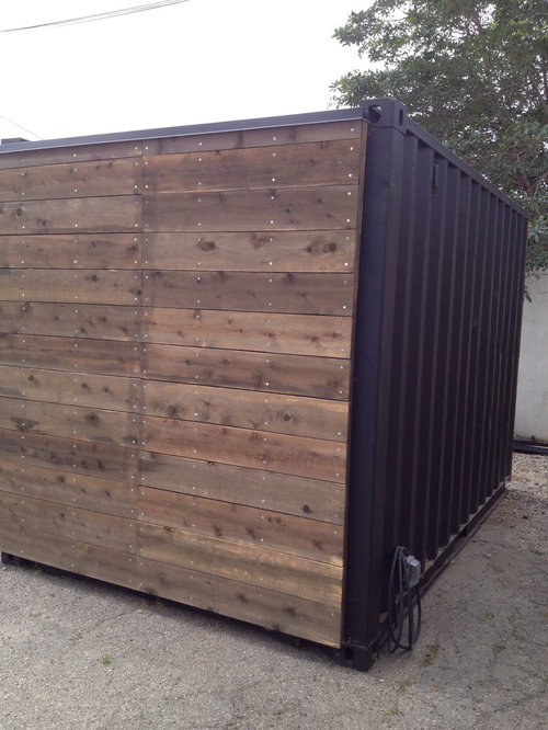 Shipping Container Garage and Shed Design Ideas, Pictures, Remodel ...