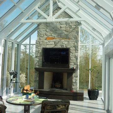 Custom Gable Attached Conservatory