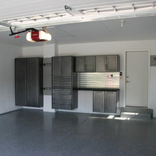 Modern Garage And Shed by Pro Storage Systems