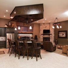 Traditional Garage And Shed by DEICHMAN CONSTRUCTION