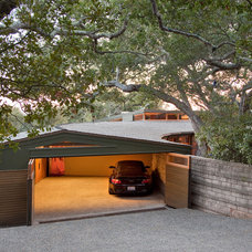 Modern Garage And Shed by Projects by Giffin & Crane