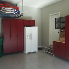 Traditional Garage And Shed by Lifestyles Organized and Lifestyle-Garage