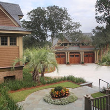 Beach Style Garage And Shed by Buffington Homes South Carolina