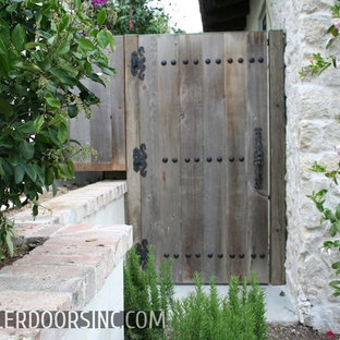 Shed - rustic shed idea in Orange County