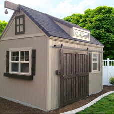 Traditional Garage And Shed by Wright's Shed Co