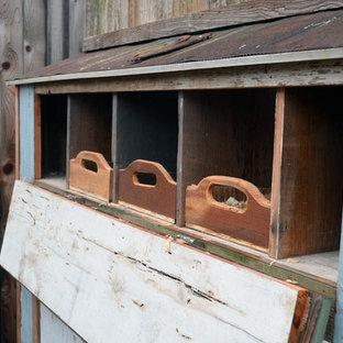 ダラスのエクレクティックスタイルのおしゃれな物置小屋・庭小屋の写真
