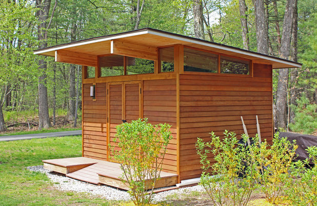Contemporary Shed by Buchanan Custom Builders