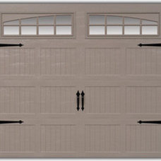 Traditional Garage And Shed by Garage Door Hardware Direct