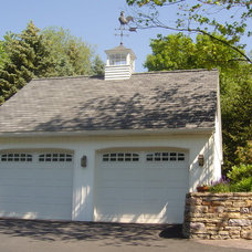 Traditional Garage And Shed by Spire Point Builders