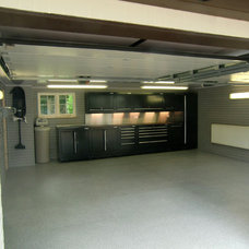 Contemporary Garage And Shed by storeWALL