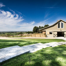 Farmhouse Garage And Shed by Gravitas, Inc.