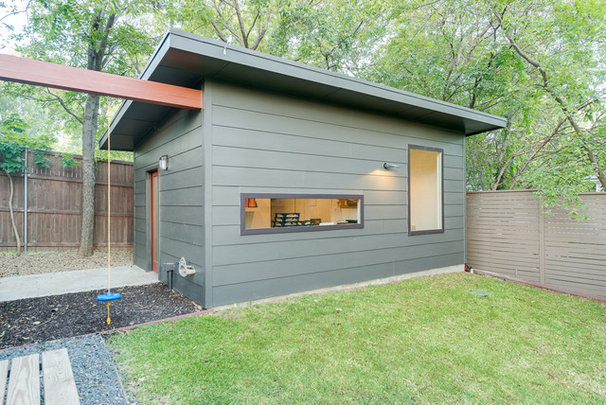 Contemporary Garage And Shed by Durham Builders