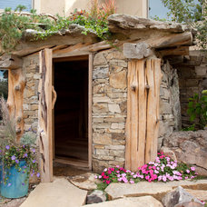 Traditional Garage And Shed by Outdoor Craftsmen