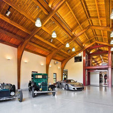 Contemporary Garage And Shed by Neumann Mendro Andrulaitis Architects LLP