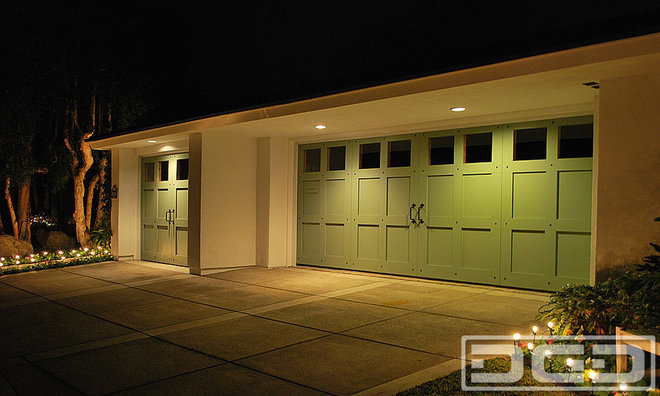Eclectic Garage And Shed by Dynamic Garage Door