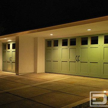 ECO-Alternative Garage Doors 11 | Custom Made Carriage House Style Garage Doors
