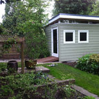 8x12 Coastal Modern-Shed - Modern - Shed - Vancouver - by ...
