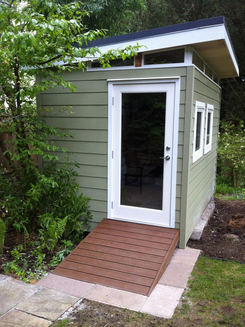 example of a trendy shed design in vancouver