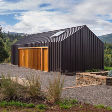 Elk Valley Tractor Shed