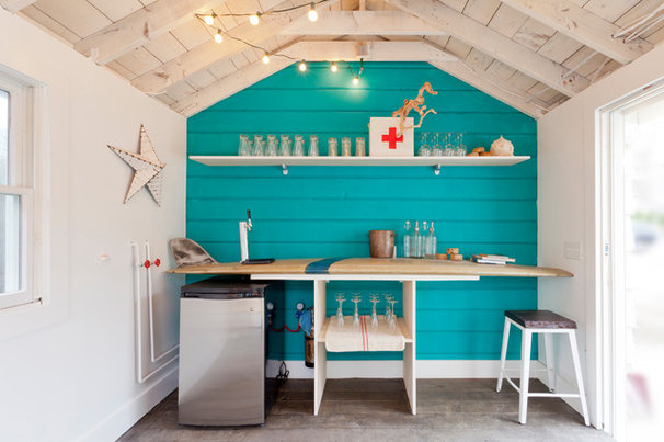 Beach Style Garage And Shed by Brunelleschi Construction