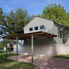 Eclectic Garage And Shed by Furman + Keil Architects