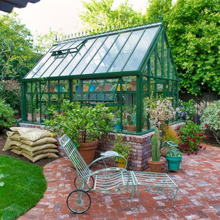 Mid-sized elegant detached greenhouse photo in San Francisco