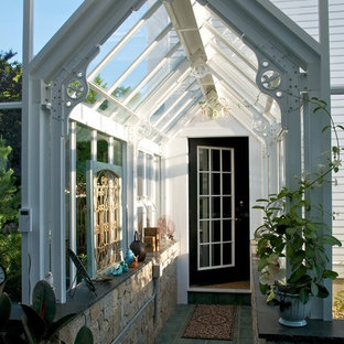 Inspiration for a traditional detached greenhouse in Boston.