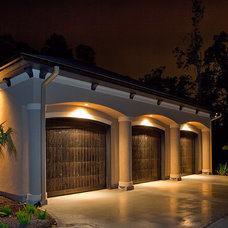 Mediterranean Garage And Shed by Chadwick Homes