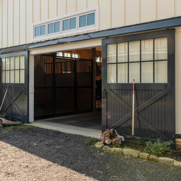 Equestrian Facility Brings Together Form and Function in Middleburg, Virginia