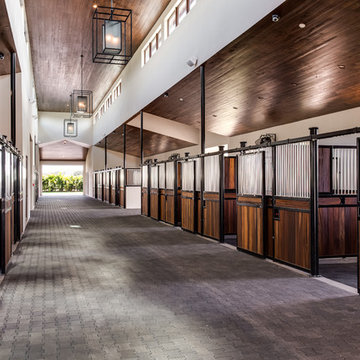 Equestrian: Horse Stables and Barns