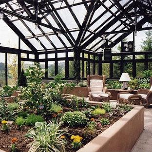 Estate Greenhouse with Vestibule