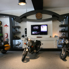 Modern Garage And Shed by The Garage Guy
