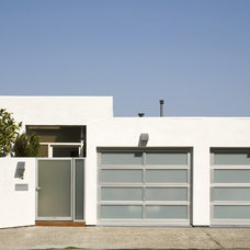 Modern Garage And Shed by Landmark Builders