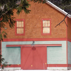 Traditional Garage And Shed by Doors by Timm