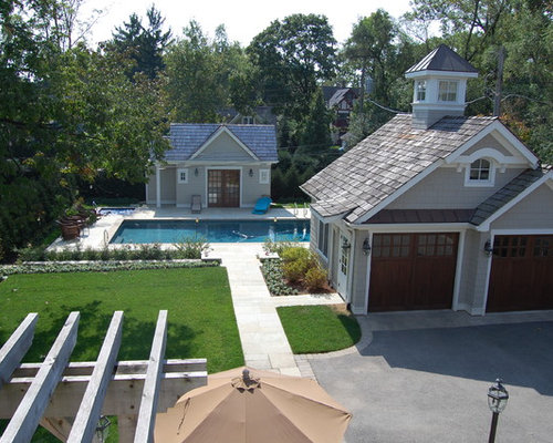 Garage and pool house home design ideas pictures remodel for Garage pool house combos