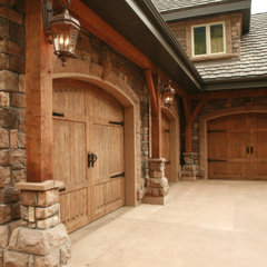 traditional garage and shed by Joe Carrick Design - Custom Home Design