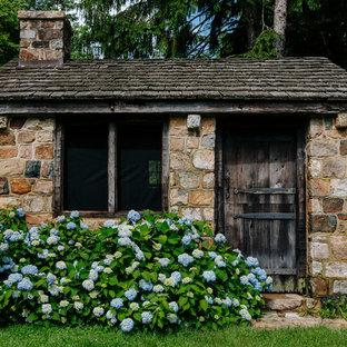 Farmhouse garden shed photo in New York