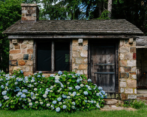 Best Stone Shed Design Ideas & Remodel Pictures | Houzz