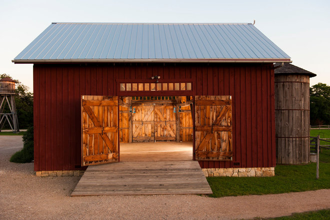 Traditional Garage And Shed by HeritageBarns.com