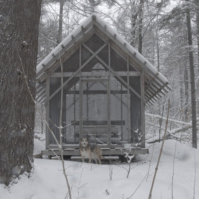 Rustic Shed by Bluetime Collaborative