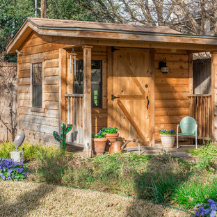 Design ideas for a small country shed and granny flat in Dallas.
