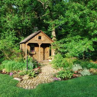 Idéer för att renovera ett rustikt trädgårdsskjul