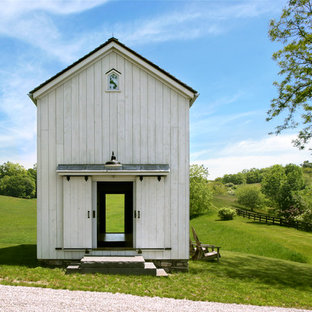 Inspiration for a small country detached barn in New York.